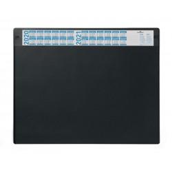 Podkład na biurko z przezroczystą okładką i kalendarzem. 650x520 mm