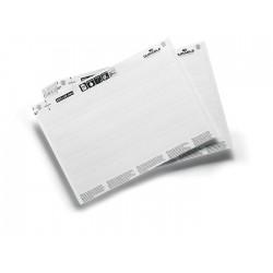 Wkłady do zadrukowania DIN A5 do produktów magazynowych w formacie 200 x 20 mm