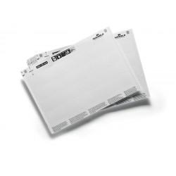 Wkłady do zadrukowania DIN A5 do produktów magazynowych w formacie 200 x 30 mm