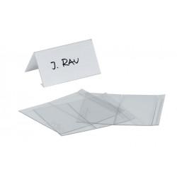 Identyfikator stołowy wykonany z PET 52/104x100 mm