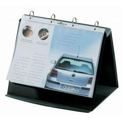 DURASTAR flipchart stołowy A4 poziomy 10 kieszeni