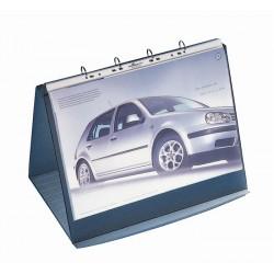 DURASTAR flipchart stołowy A3 poziomy 10 kieszeni