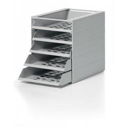 IDEALBOX BASIC 5 A4 pojemnik z 5 szufladami do montaナシu,