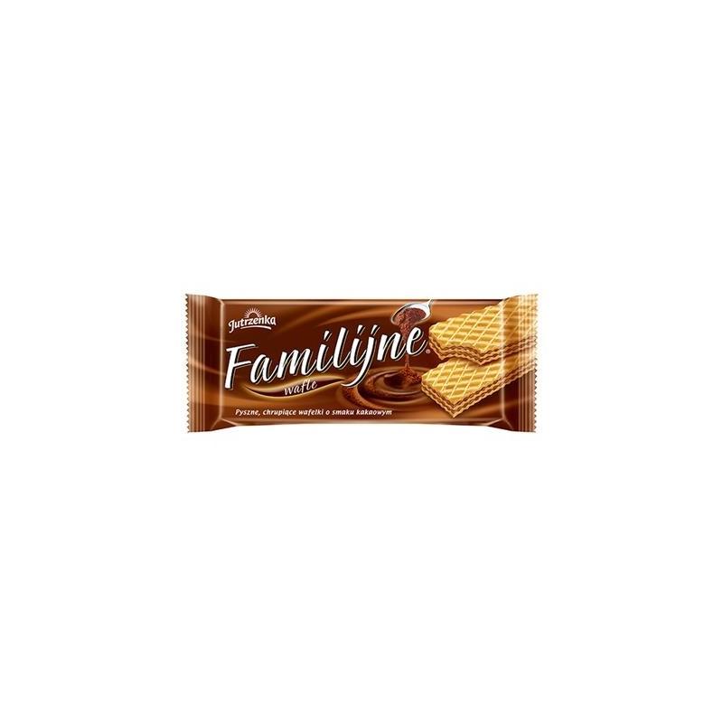 Wafle Familijne 180g kakaowe