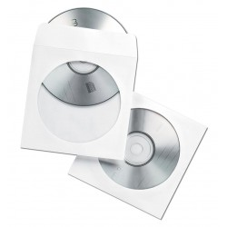 Koperty z okienkiem na płyty CD/DVD
