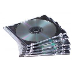 Pudełka Slimline na płyty CD/DVD