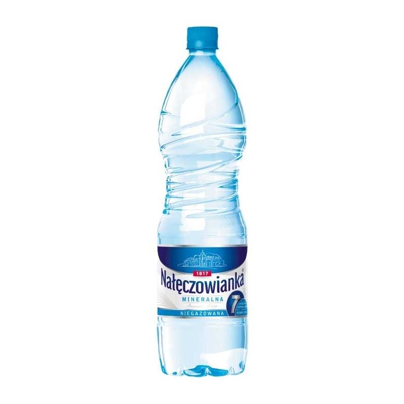 Woda mineralna Nałęczowianka niegazowana 1,5 L, zgrzewka 6 szt.