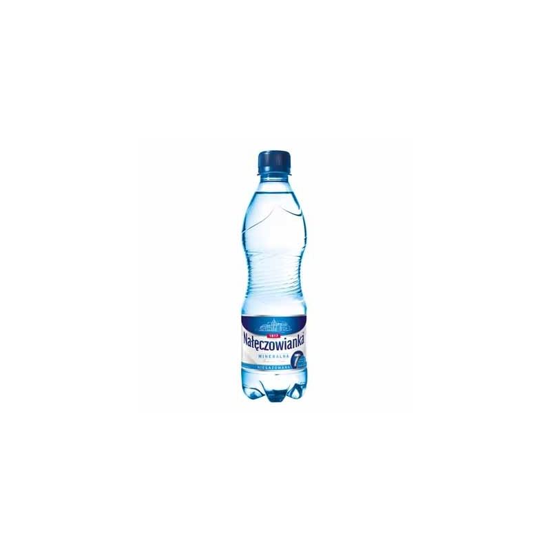 Woda mineralna Nałęczowianka niegazowana 0,5 L, zgrzewka 12 szt.