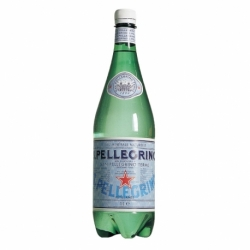 Woda mineralna Pellegrino gazowana 1 L