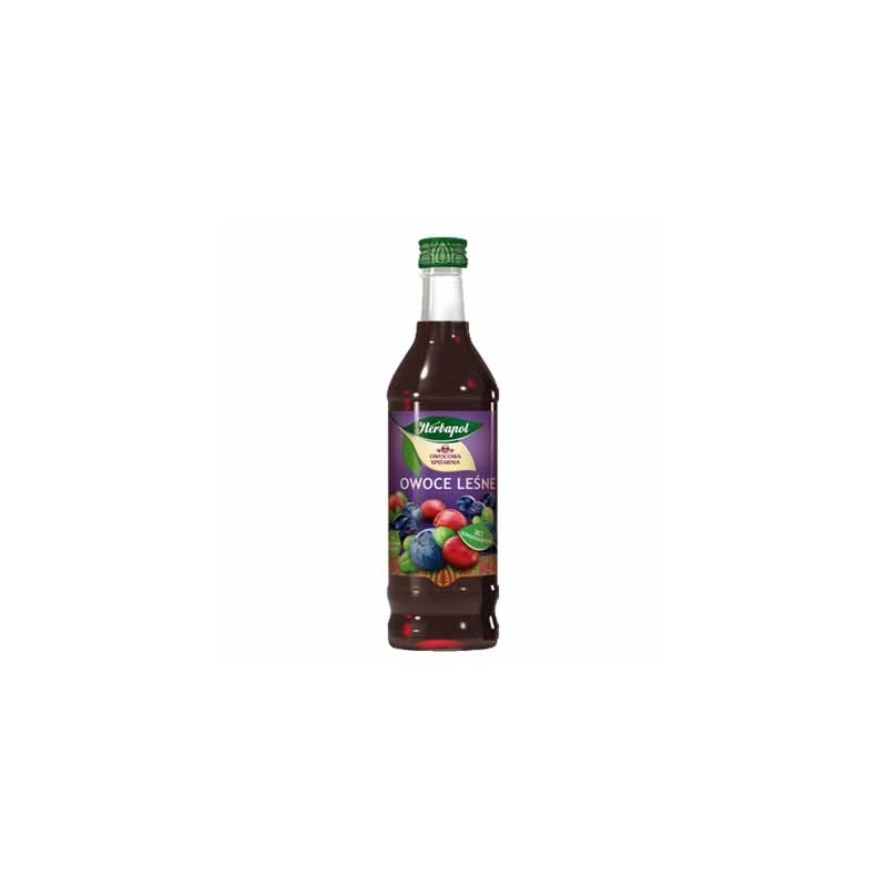 Syrop owocowy Herbapol owoce leśne 420ml