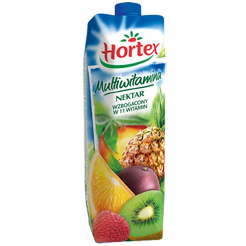 Sok 100% Hortex 1 litr multiwitamina