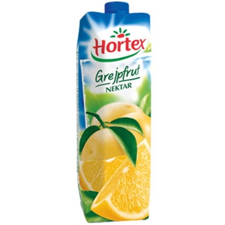 Sok 100% Hortex 1 litr grapefruit rubinowy