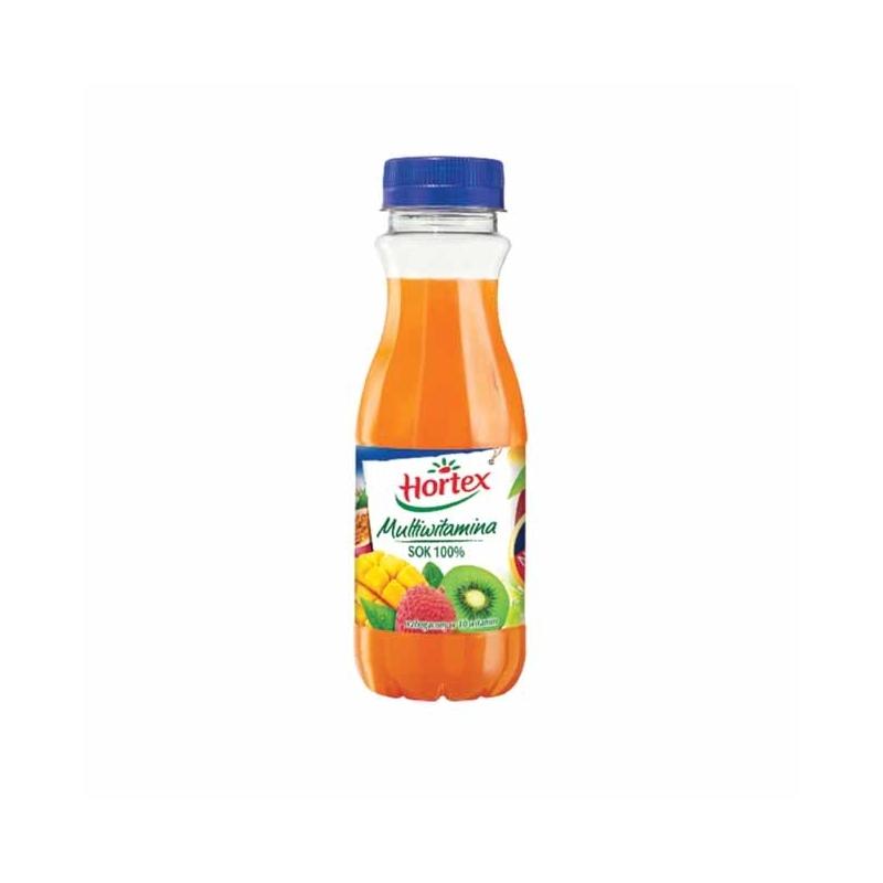 Sok 100% Hortex multiwitamina, 300ml, butelka PET