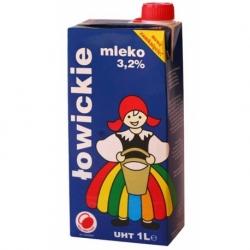 Mleko UHT Łowickie 1 litr 3,2%