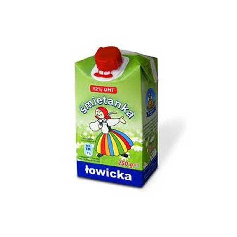 Śmietanka do kawy Łowicz 250ml 12%