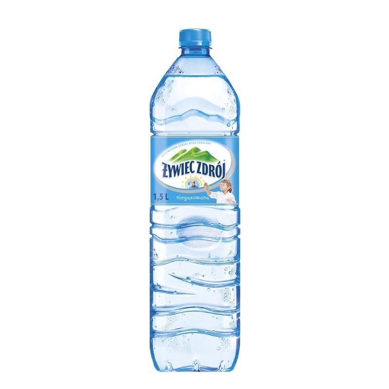 Woda Żywiec Zdrój zgrzewka 6szt niegazowana 1,5 L