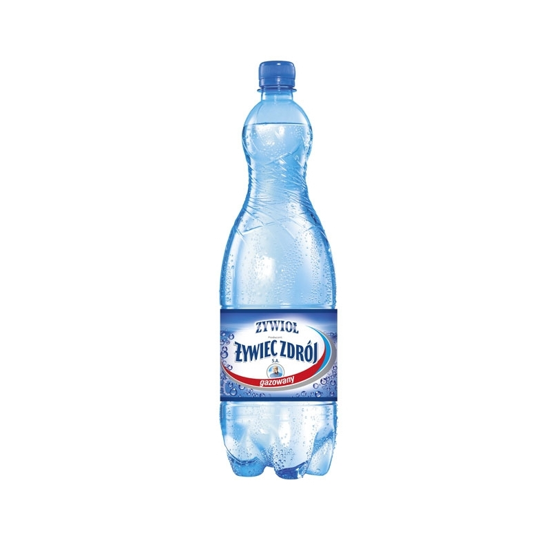 Woda źródlana Żywiec Zdrój gazowana 1,5 L, zgrzewka 6 szt.