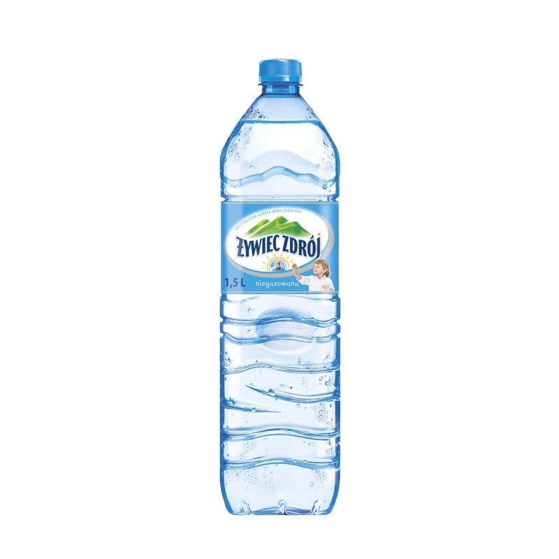Woda źródlana Żywiec Zdrój niegazowana 1,5 L, zgrzewka 6 szt.
