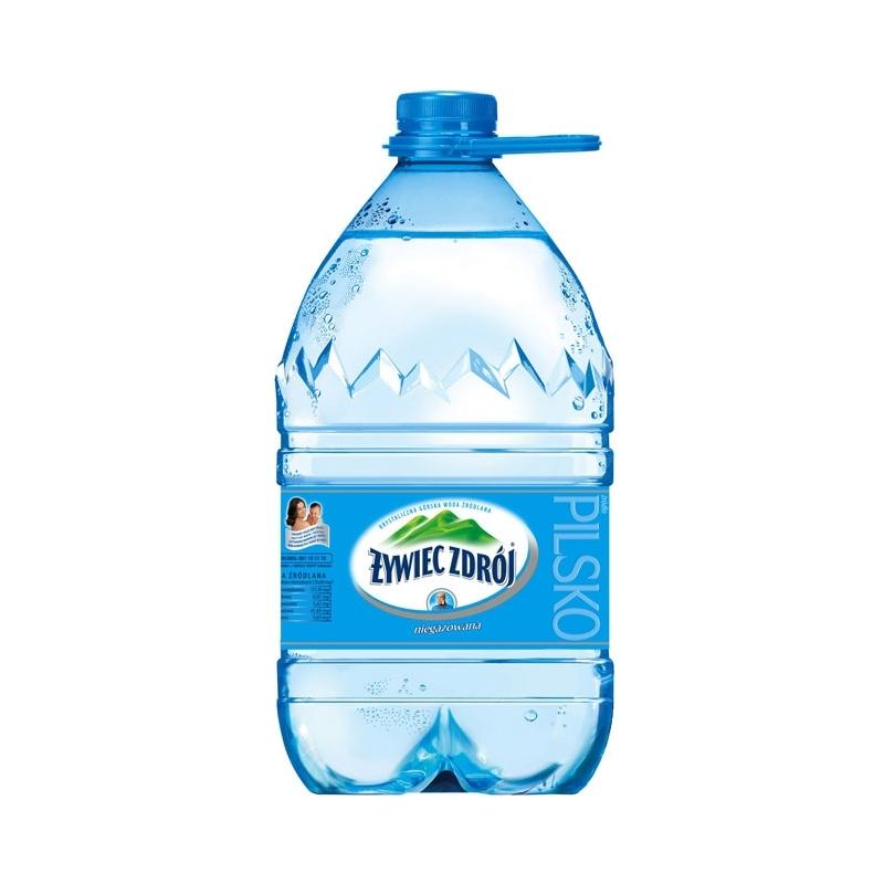 Woda źródlana Żywiec Zdrój Niegazowana 5 L
