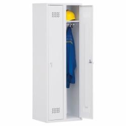 Szafa metalowa ubraniowa dwu drzwiowa