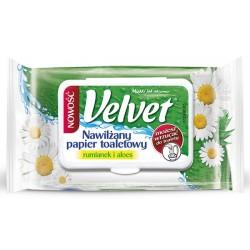 Papier toaletowy Velvet nawilżany rumianek