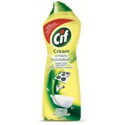 Mleczko do czyszczenia Cif 750ml lemon