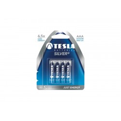 Bateria Tesla LR03 AAA silver+ 4 szt. Alkaliczna blister foliowy