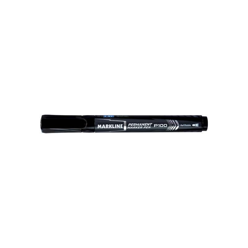Marker permanentny Linc Markline p100 czarny