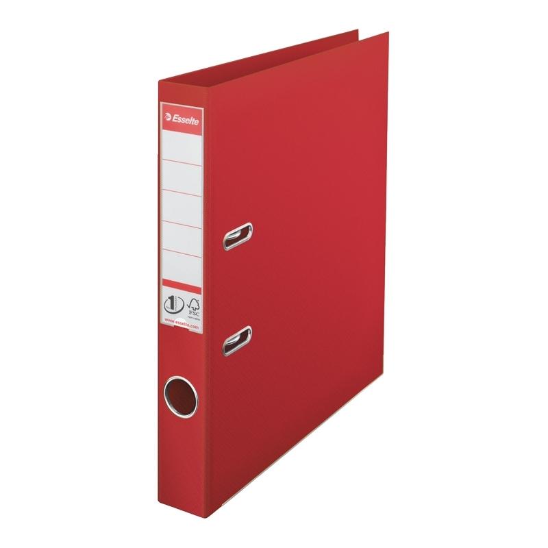 Segregator Esselte No.1 Power A4 50mm czerwony