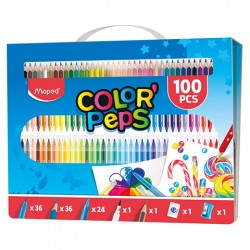 Zestaw artystyczny ColorPeps do malowania 100 elementテウw