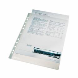 Koszulka krystaliczna Esselte A4, 75 mic. w kartoniku, 100 szt