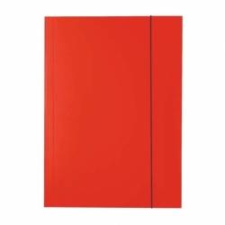 Teczka lakierowana A4 z gumkト� Esselte czerwona