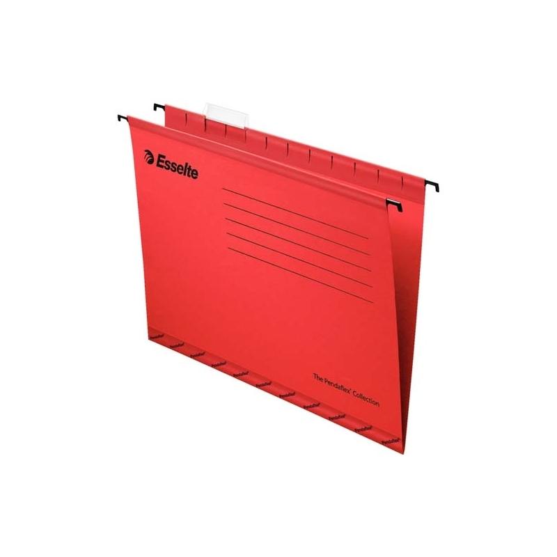 Teczka zawieszana A4 Esselte Pendaflex Standard czerwony