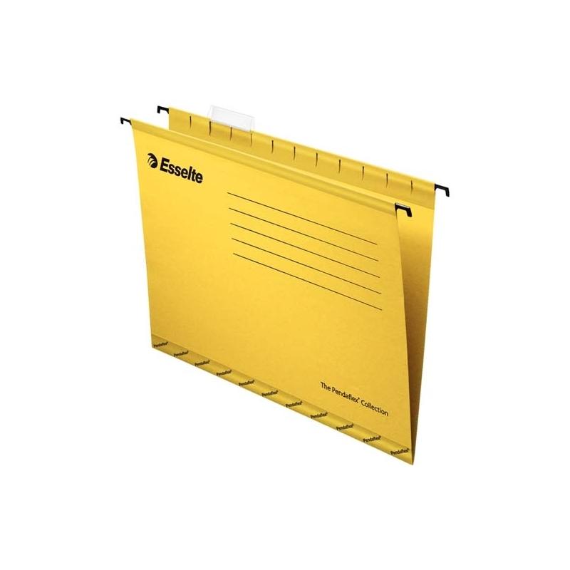 Teczka zawieszana A4 Esselte Pendaflex Standard żółty