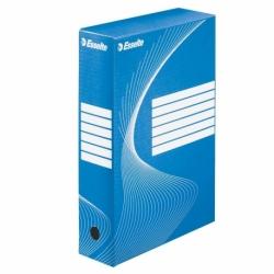 Pudło archiwizacyjne Esselte Boxy 80 mm niebieskie