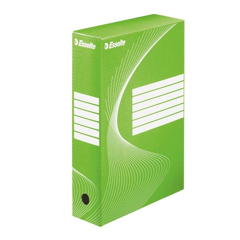 Pudło archiwizacyjne Esselte Boxy 80 mm zielone