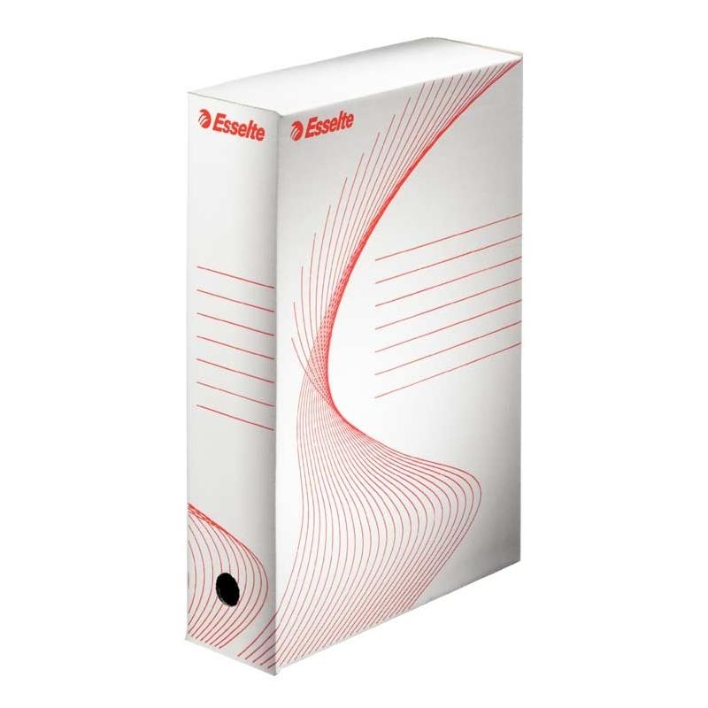 Pudło archiwizacyjne Esselte Boxy 80 mm białe