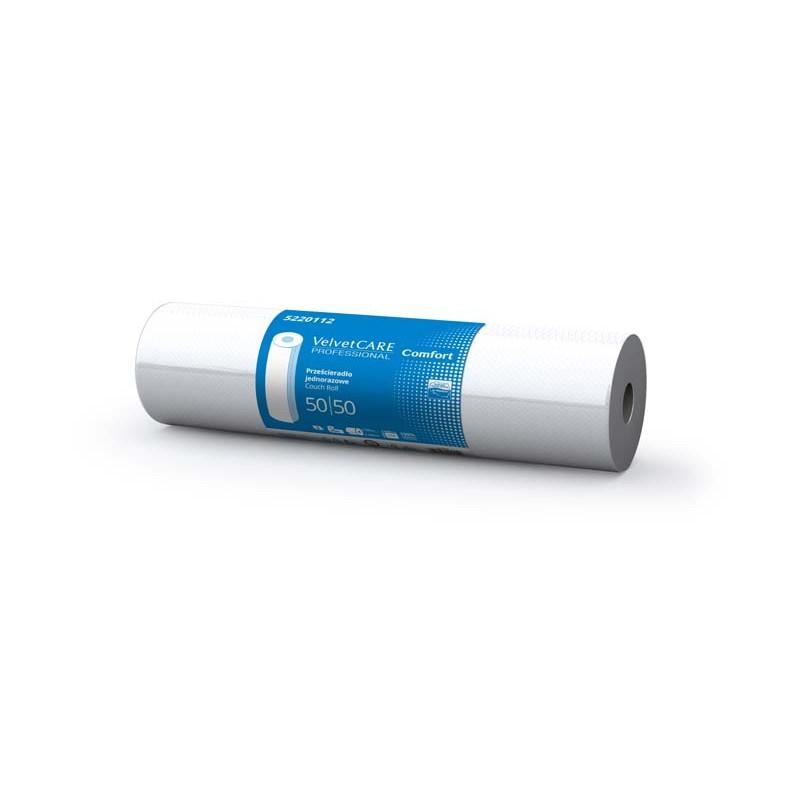 Przeナ嫩ieradナP jednorazowe Velvet Care w roli 50 cm podkナBd medyczny