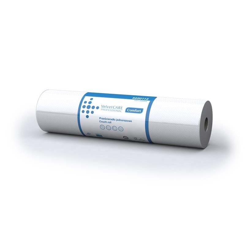 Przeナ嫩ieradナP jednorazowe Velvet Care w roli 60 cm podkナBd medyczny