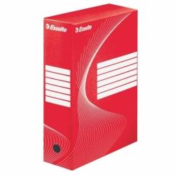 Pudło archiwizacyjne Esselte Boxy 100 mm czerwone