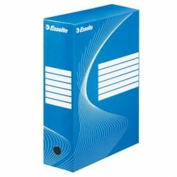 Pudło archiwizacyjne Esselte Boxy 100 mm niebieskie