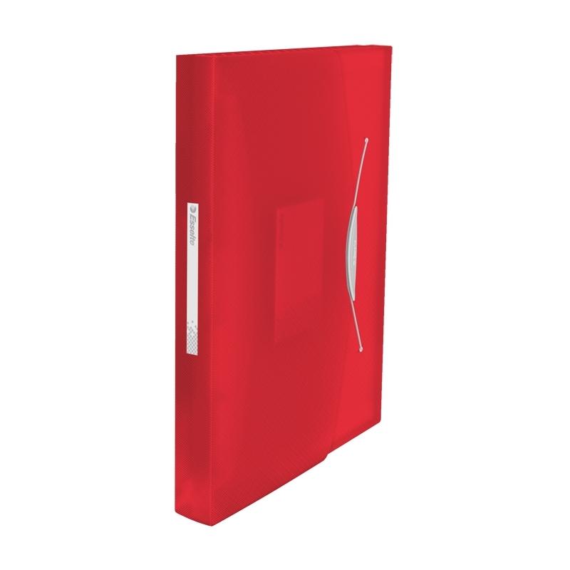 Teczka z przegródkami A4 Esselte Vivida czerwona