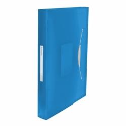 Teczka z przegródkami A4 Esselte Vivida niebieska