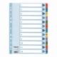 Przekładki kartonowe Mylar A4 Esselte 1-12