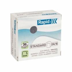 Zszywki Rapid Standard 24/6, 5000 szt.