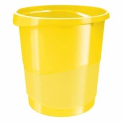 Kosz na śmieci Europost Vivida, 14 litrów żółty