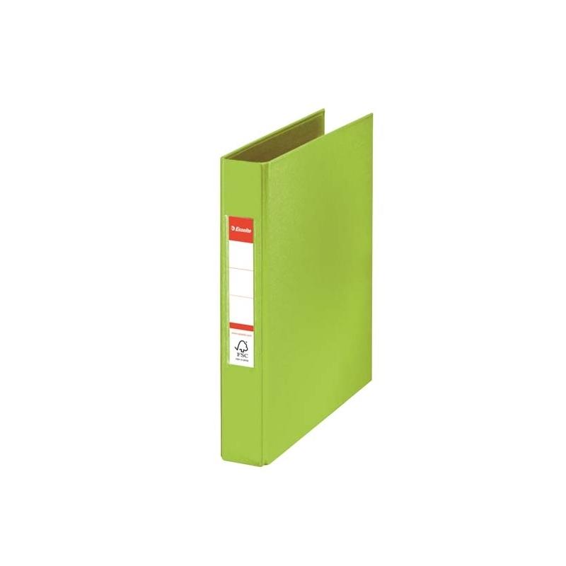 Segregator 2-ringowy Esselte Vivida A5/35mm zielony