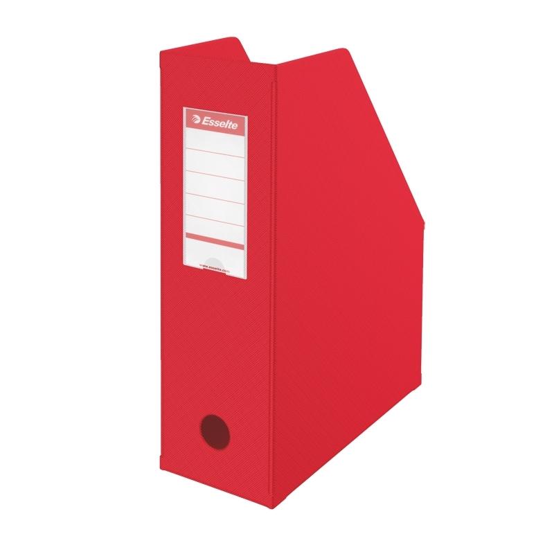 Pojemnik składany A4 Esselte, grzbiet 100 mm czerwony