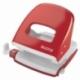 Dziurkacz Leitz 5008 metalowy, 30 kartek czerwony