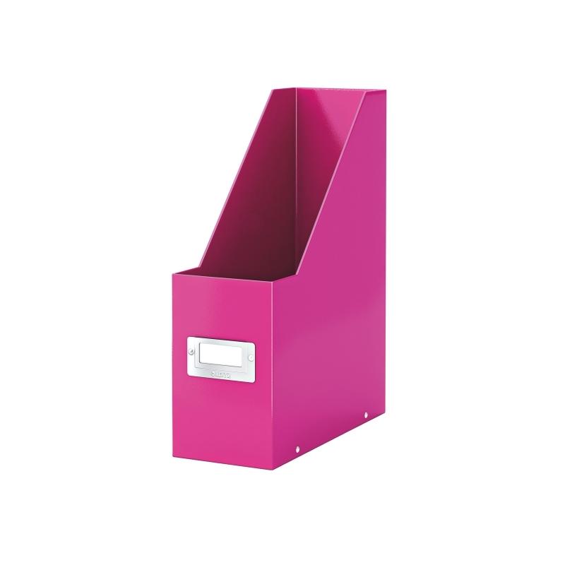 Pojemnik na czasopisma Leitz C&S różowy